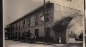 Alex Frieder at the Frieder Cigar Factory (1920's)