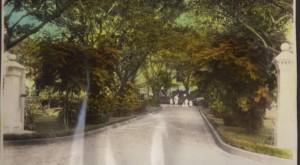 Frieder Manila Home – View of Entrance (1934)