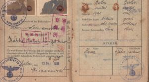 George Loewenstein Passport (Pages 2 and 3)