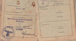 George Loewenstein Passport (Pages 4 and 5)