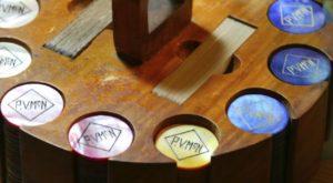 Paul V. McNutt's Personalized Poker Chips