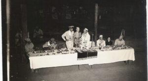 Ten Year Old George Loewenstien at Passover Celebration -1945